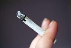 El fumar Imagen de archivo