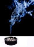 El fumar como veneno mortal Imagenes de archivo