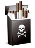 El fumar es malo para su salud ilustración del vector