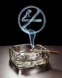 El fumar no permitido Imagen de archivo