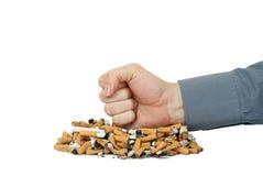 El fumar Quit Fotografía de archivo