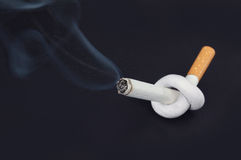 El fumar salido Fotos de archivo