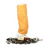 El fumar salido Foto de archivo libre de regalías