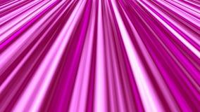 El funcionamiento animado abstracto raya rosa inconsútil del vídeo del lazo del fondo