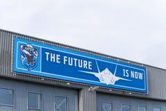 El futuro ahora está Imagen de archivo libre de regalías