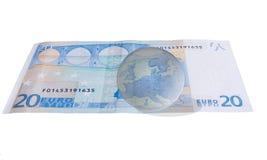 El futuro de Europa, zona euro - concepto Imágenes de archivo libres de regalías
