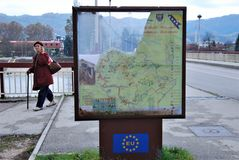 El futuro de la unión europea Fotos de archivo libres de regalías