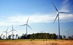El futuro está soplando en el viento Imagen de archivo libre de regalías