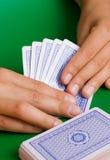 El ganar en tarjetas imagenes de archivo