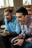 El ganar en videojuego Fotos de archivo