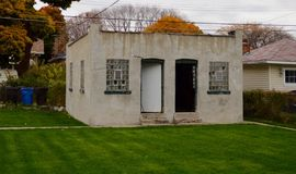 El garaje de Al Capone fotografía de archivo libre de regalías