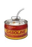 el gas de 2.5 galones puede Imagen de archivo libre de regalías