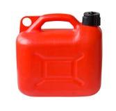 El gas plástico puede Foto de archivo