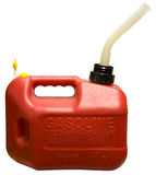 El gas puede Imagenes de archivo