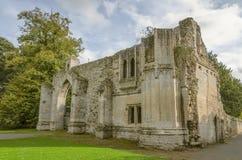 El gatehouse de Ramsey Abbey Imagenes de archivo