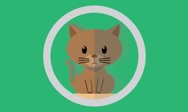 El gato Fotografía de archivo libre de regalías