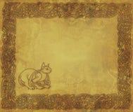 El gato céltico Imagen de archivo