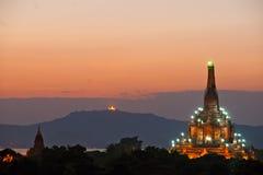 El Gawdawpalin Pahto, Bagan, Myanmar. foto de archivo libre de regalías