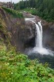 El gemelo enarbola las cascadas Imagenes de archivo