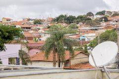 El general coloca el Brasil imagen de archivo libre de regalías
