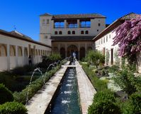El Generalife Royalty Free Stock Photography