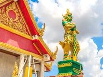 El gigante grande en el templo tailandés Tailandia Fotos de archivo libres de regalías