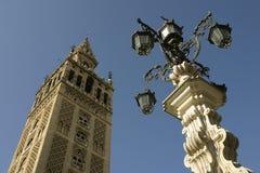 El Giralda en Sevilla Fotos de archivo libres de regalías