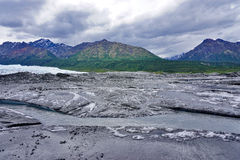 El glaciar de Matanuska Imagen de archivo libre de regalías