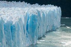 El glaciar de Perito Moreno imágenes de archivo libres de regalías