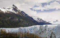 El glaciar de Perito Moreno Patagonia, la Argentina Fotografía de archivo