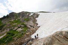 El glaciar de St Mary Imagen de archivo