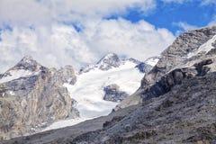 El glaciar de Stevio Imagen del color Foto de archivo libre de regalías