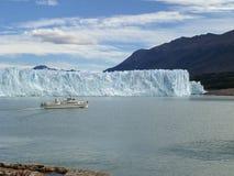 El glaciar en Patagonia, la Argentina de Perito Moreno. foto de archivo