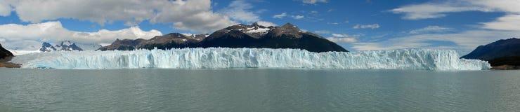 El glaciar en Patagonia, la Argentina de Perito Moreno. Fotos de archivo libres de regalías