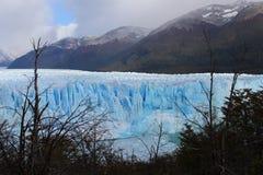 El glaciar Perito Moreno Imágenes de archivo libres de regalías