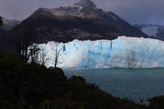 El glaciar Perito Moreno - Patagonia la Argentina Imágenes de archivo libres de regalías