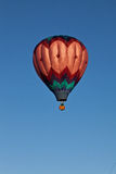 El globo del aire caliente photgrphed en el Bealton, demostración de aire del circo del vuelo del VA Fotos de archivo