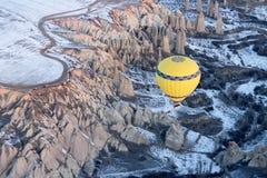 El globo del aire caliente photgrphed en el Bealton, demostración de aire del circo del vuelo del VA Fotos de archivo libres de regalías