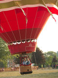 El globo del aire caliente saca Fotografía de archivo libre de regalías