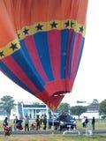 El globo se prepara para volar Fotografía de archivo