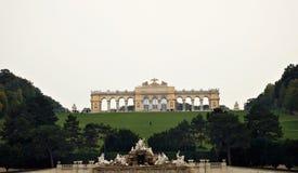 El Gloriette en Viena Foto de archivo