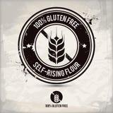 El gluten alternativo libera el sello Imagen de archivo