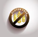 El gluten hermoso libera símbolo Fotos de archivo libres de regalías