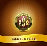 El gluten libera stock de ilustración