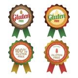 El gluten libera Imagenes de archivo
