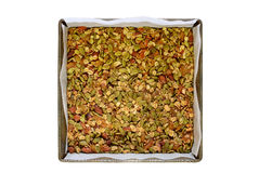 El gluten libera el granola Imagen de archivo