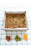 El gluten libera el granola Foto de archivo