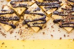 El gluten libera el postre Fotos de archivo