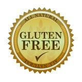 El gluten libera el sello Fotos de archivo