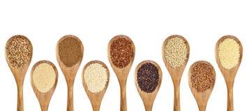 El gluten libera granos Imágenes de archivo libres de regalías